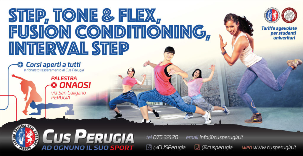 Step, Interval Step, Fusion Conditioning, Tone&Flex